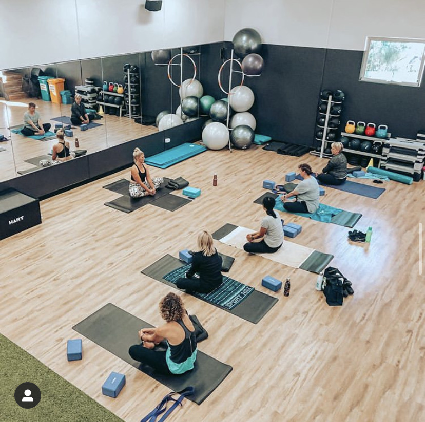 Club Active Group Fitness Class Yoga
