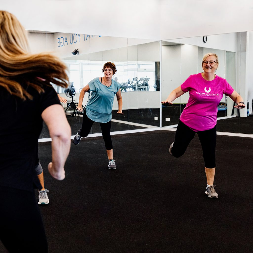 Club Active Group Fitness Classes