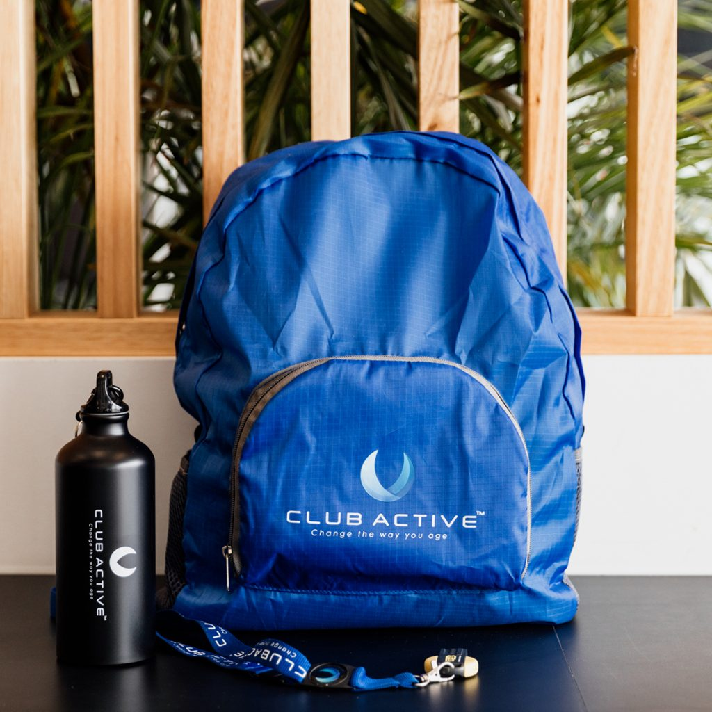 Club Active Health and Fitness Centre Membership Welcome Packs