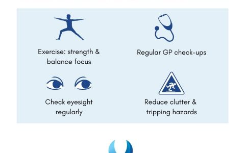 club active - fall prevention top tips to reduce your risk