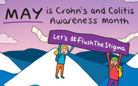 Crohns and colitis awareness month 2021 - club active dietitian tips